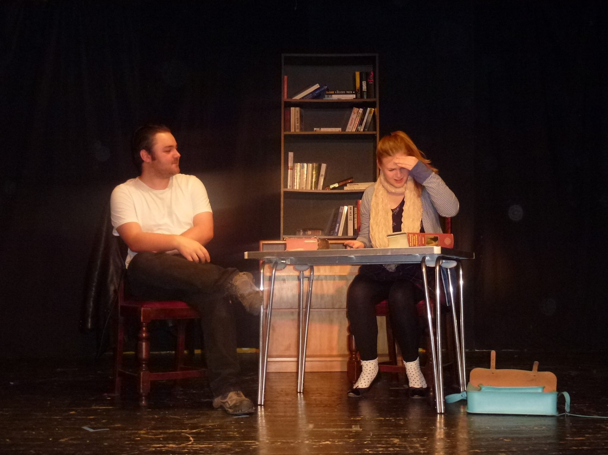 Well Read by Keith Badham starring Eleanor Smith and Ben Bateman